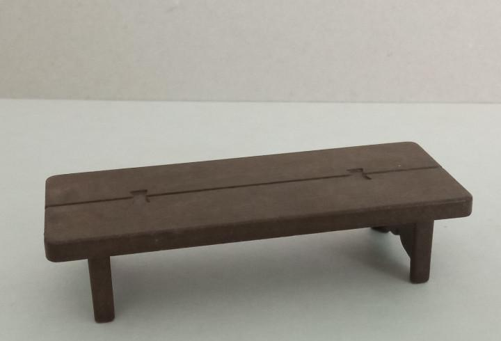 Playmobil - banco de madera, oeste, granja, taberna