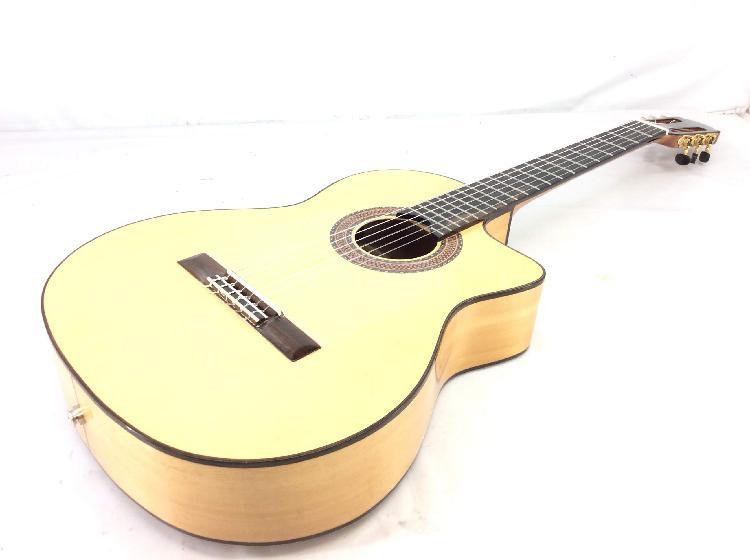 Guitarra acustica otros es-08s ce blanca