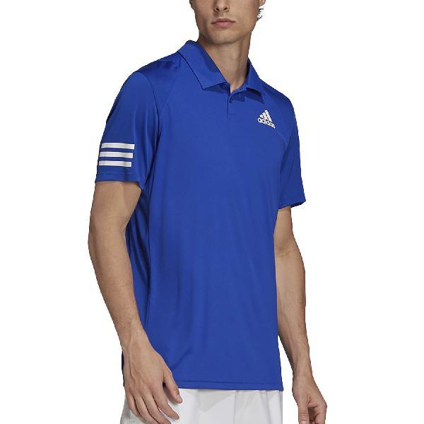 Adidas club 3 stripes polo de tenis hombre