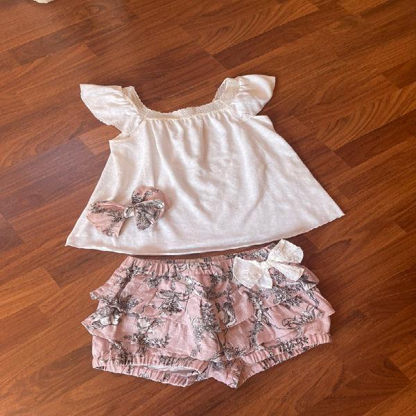 Camiseta y pantalón nanos