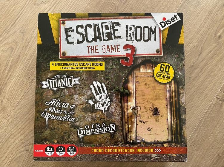 Juego escape room the game 3