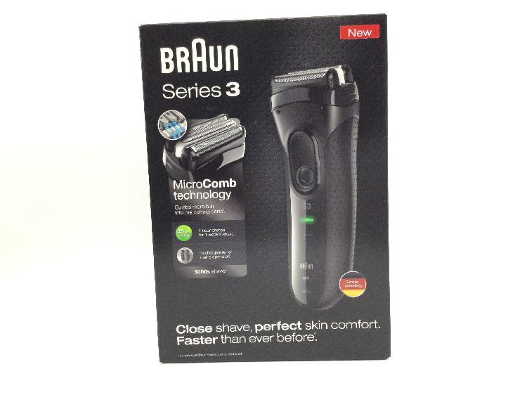 Afeitadora electrica braun 3000s series 3