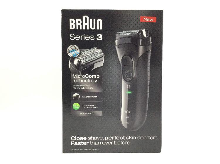 Afeitadora electrica braun 3020s series 3