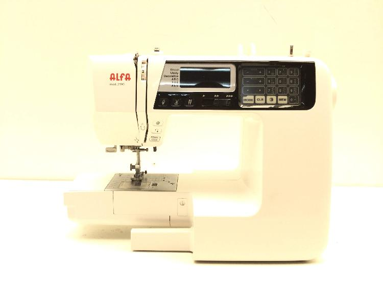 Maquina coser alfa 2190