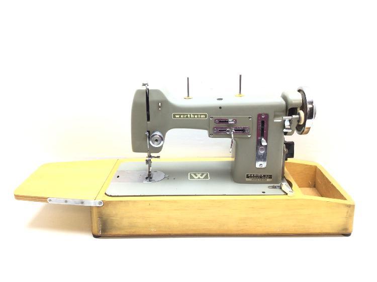 Maquina coser wertheim automática bz zig-zag