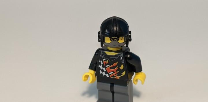 Backyard blaster 1 (bart blaster) 30032 - lego world racers