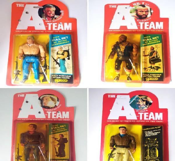 Colección completa de figuras del equipo a, galoob año