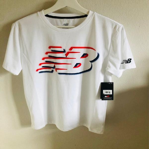 Camiseta running hombre new balance