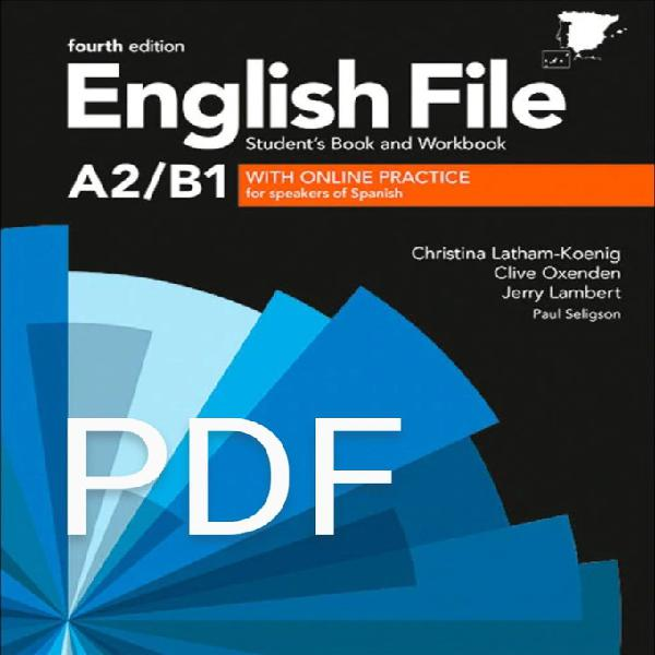 English file 4th edition a2/b1 (pdf) student's book and