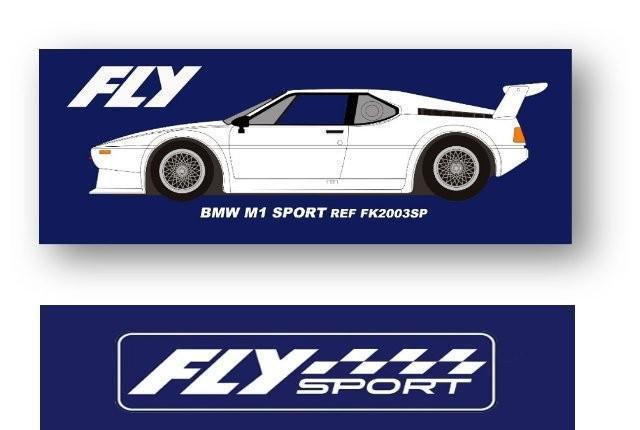 Fly sport bmw m1 blanco fk2003sp