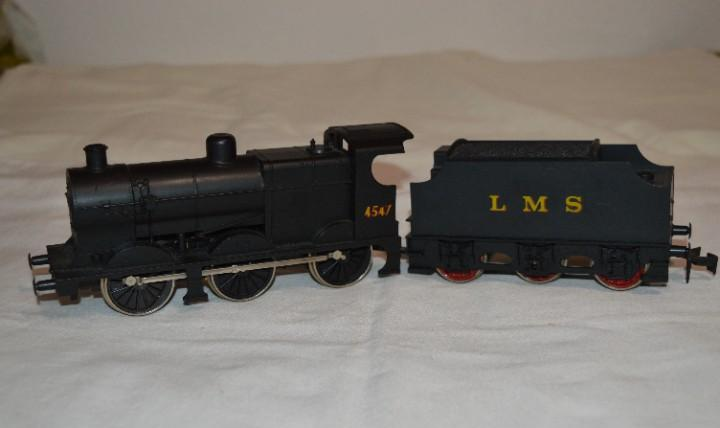 Locomotora vapor lms 4547 / de lima - made in italy - escala