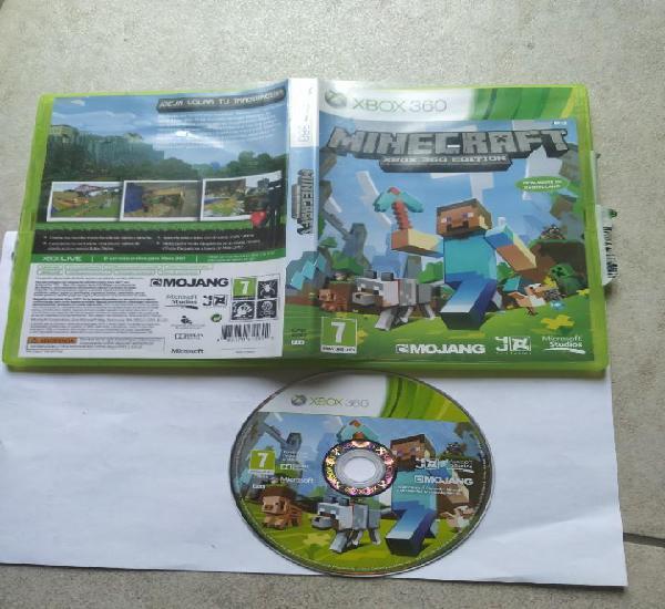 Minecraft xbox360 xbox 360 pal-españa