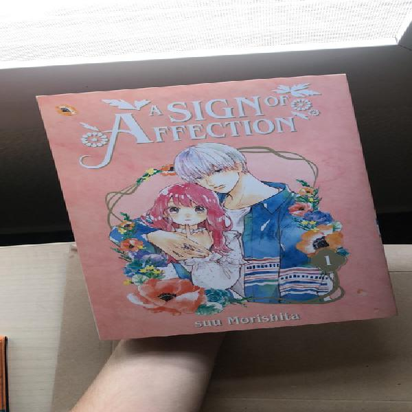 Manga a sign of affection