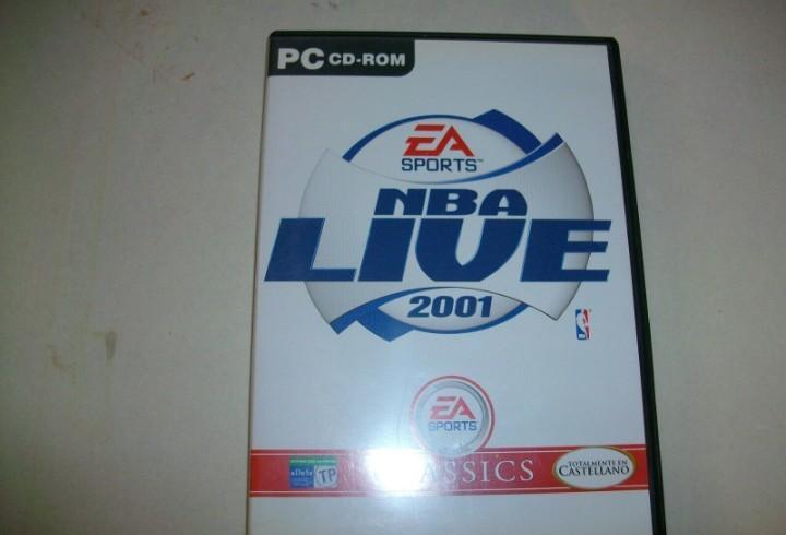 Nba live 2001 juego de ea sports para pc