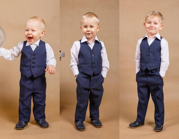 Navy blue boy suit,boy outfit,made in europe,navy