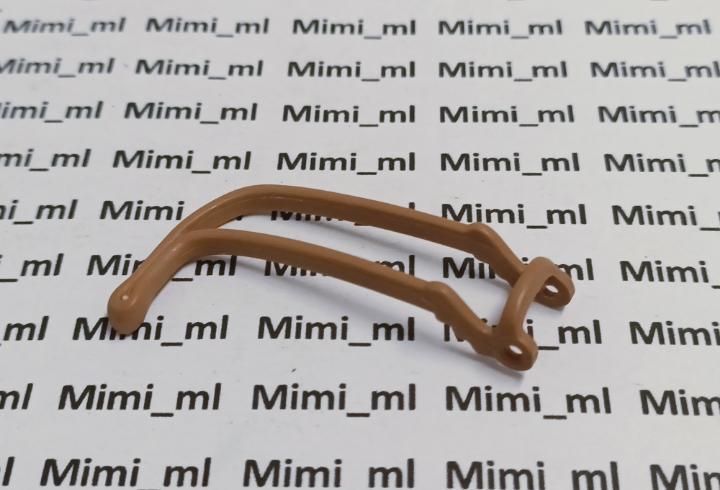 Playmobil riendas marrones claras caballo medieval western