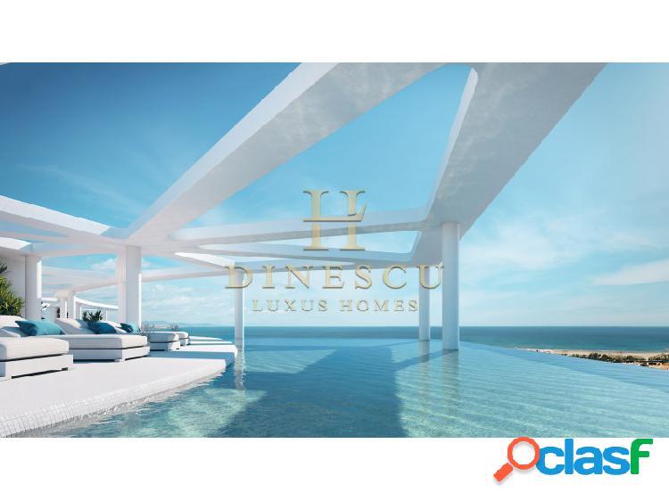 Ático de lujo con gimnasio, piscina interior y vistas al mar cerca de valencia