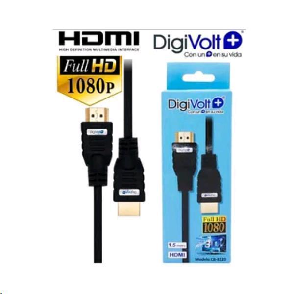 Cable hdmi 1.5m digivolt cb