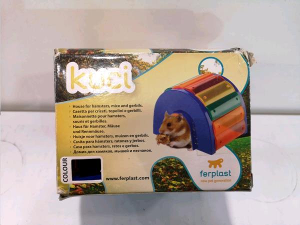 Caseta hamster pequeña kuci segunda mano/novedad en