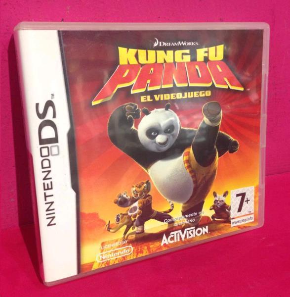 Ds kung fu panda el videojuego segunda mano en nolotire