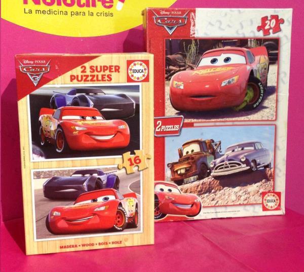 Puzzle infantil cars vario /precio unidad segunda mano en
