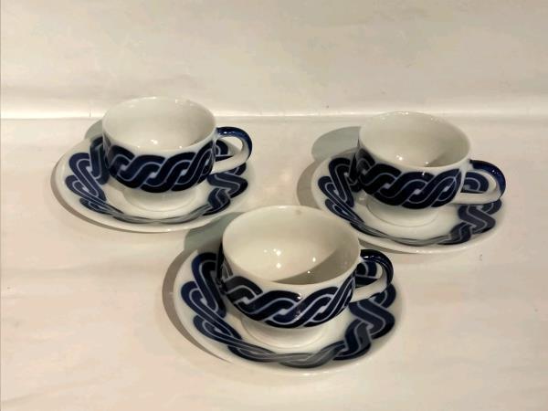 Sargadelos taza cafe+plato cadrelo tara / precio unidad