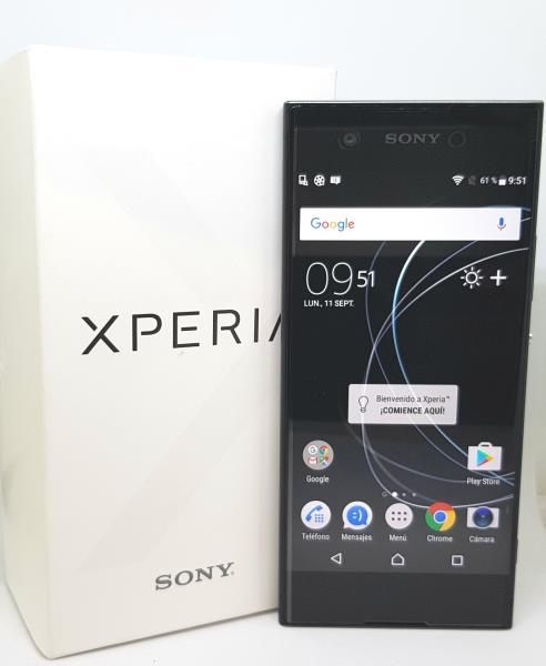 Smartphone sony xperia xa1 libre color negro segunda mano en