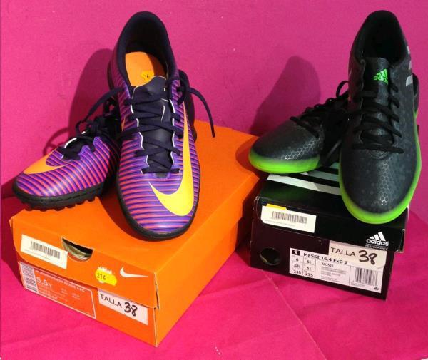Zapatillas deportivas marca / precio unidad nuevo en