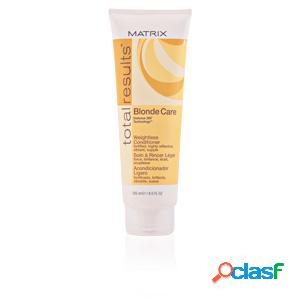 Total results blonde care weightless conditioner 250 ml