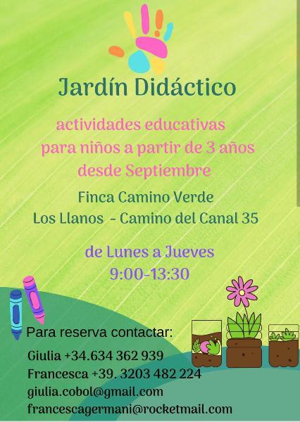 Jardin didactico