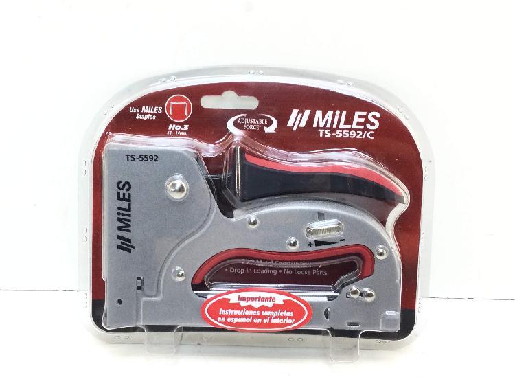 Grapadora manual miles ts-5592/c