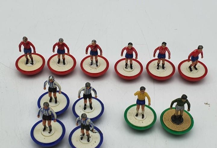 12 jugadores futbol base redonda (ver fotos)