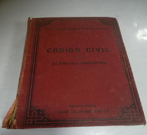 Código civil de la república argentina. 5º ed. 1888.
