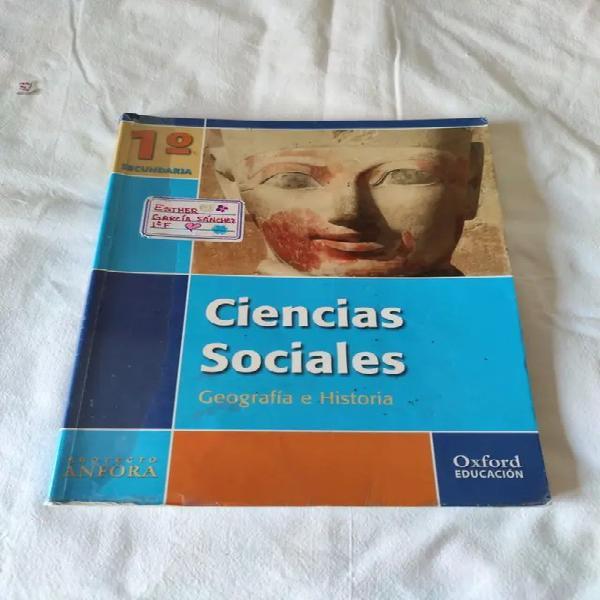 Ciencias sociales. geografía e historia 1º eso oxford