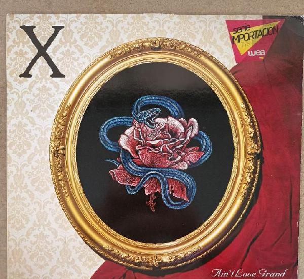 X - ain't love grand! (lp, vinilo) (usa punk)