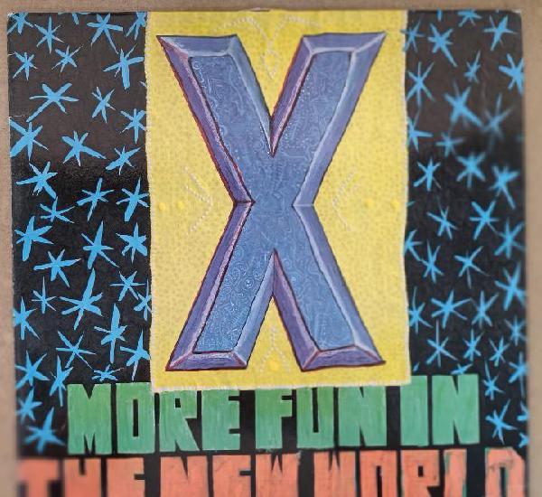 X - more fun in the new world (lp, vinilo) (punk)