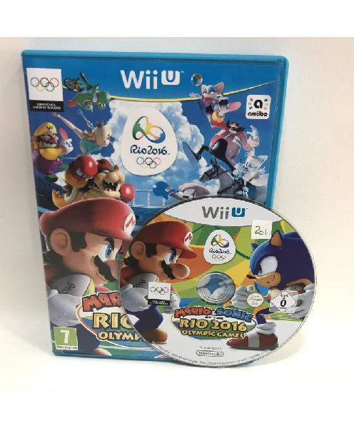 Mario y sonic juegos olimpicos rio 2016 wii u