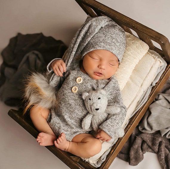 Recién nacido niño traje de la foto, fotografía del niño