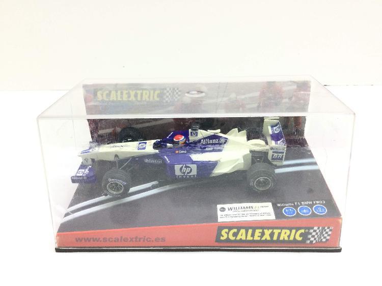 Coche slot scalextric william f1