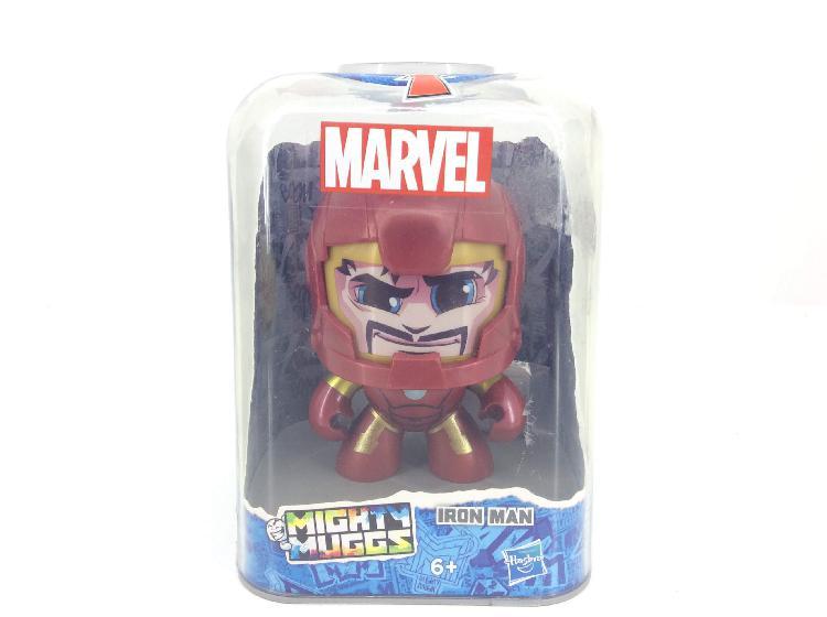 Figura accion marvel mighty muggs ironman