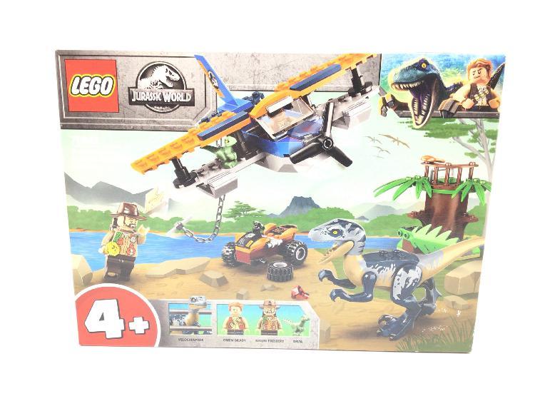 Juego de construccion lego 75942 velociraptor: la misión de