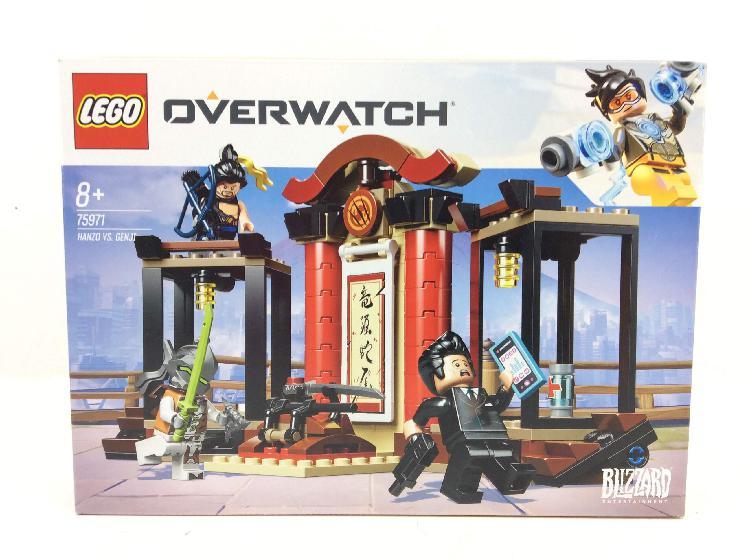 Juego de construccion lego 75971 hanzo vs genji