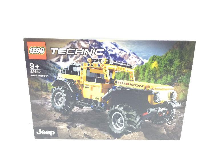 Juego de construccion lego jeep