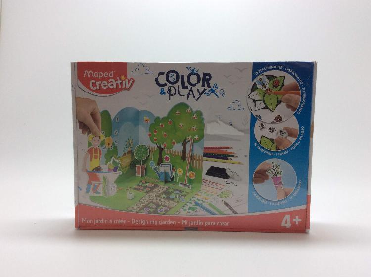 Juego educativo otros color play mi jardin para crear