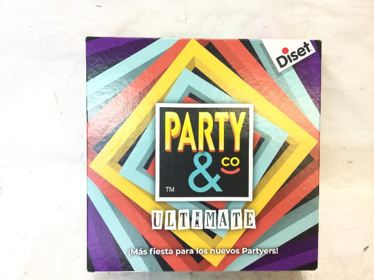 Juegos de mesa diset party