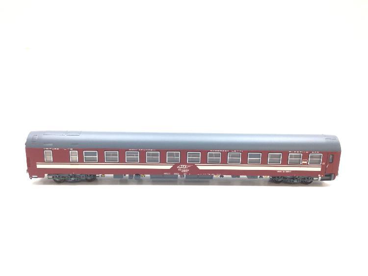 Vagon escala h0 amintiri feroviare vagon dormir epoca v