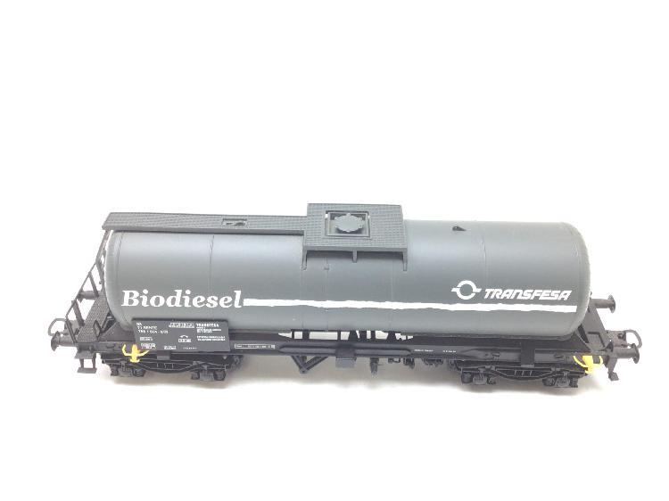 Vagon escala h0 electrotren cisterna biodiesel tranfesa