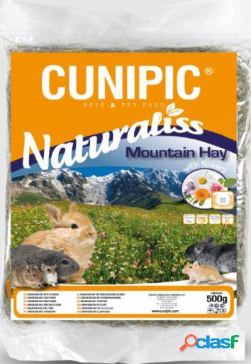 Naturaliss heno multifloral mountain hay para roedores 500 gr cunipic