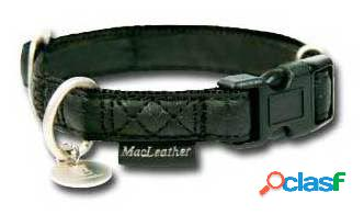 Collar para perros macleather negro xl 200 gr nayeco