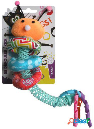 Catnip huggy worm cat toy 40 gr agrobiothers